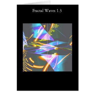 Carte Vagues 1,3 de fractale