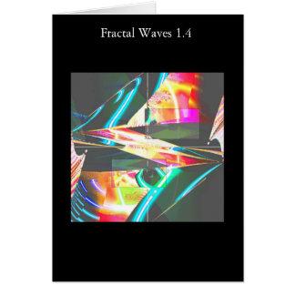 Carte Vagues 1,4 de fractale