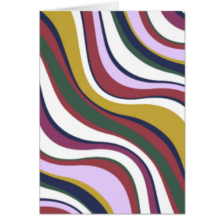 Carte Vagues modernes 5 d'Eames