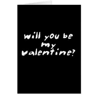 Carte Valentine pour Valentine-moins