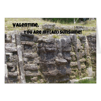 Carte Valentine, vous êtes mon () soleil !