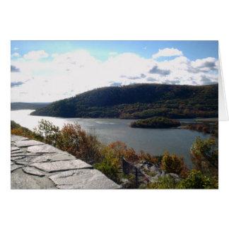 Carte Vallée du fleuve Hudson