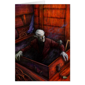 Carte Vampire de Dracula Nosferatu