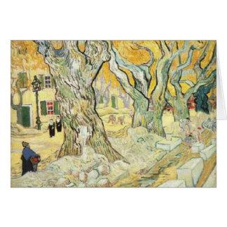 Carte Van Gogh les raccomodeurs de route