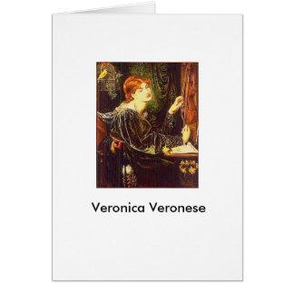 "Carte ""Veronica Veronese"" par Dante Gabriel Rossetti"