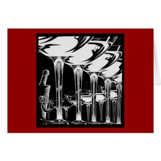 Carte Verres de Champagne
