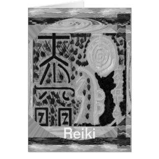 Carte Version noire et blanche - Reiki n Karuna