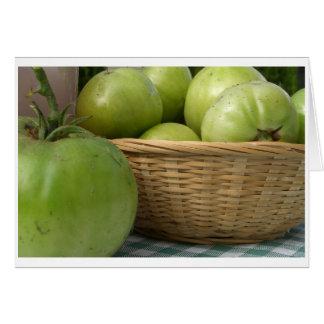 carte verte de tomate