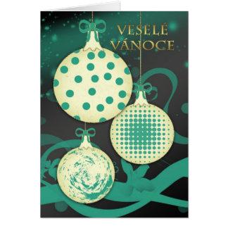 Carte Veselé Vánoce - Noël tchèque Ca de Joyeux Noël