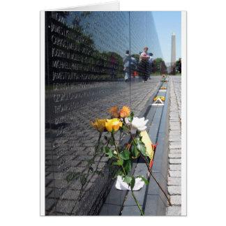 Carte vétérans du Vietnam commémoratifs
