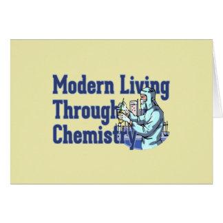 Carte Vie moderne par la chimie