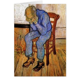 Carte Vieil homme dans la peine par Vincent van Gogh