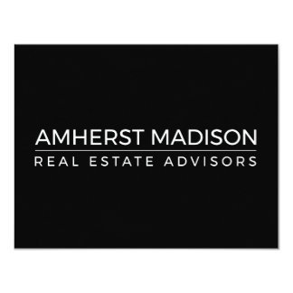 Carte vierge d'Amherst Madison