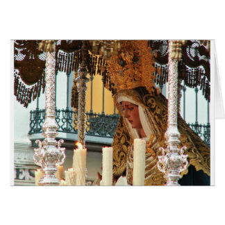 Carte Vierge Marie