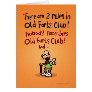 Carte Vieux club de pets