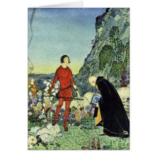 Carte Vieux conte de fées français, la Virginie