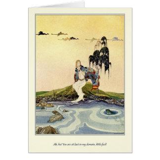 Carte Vieux contes de fées français : Dans mon domaine