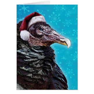 Carte Vieux Noël excentrique de Buzzard