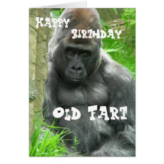 Carte Vieux pet de joyeux anniversaire