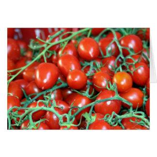 Carte vignes de tomate
