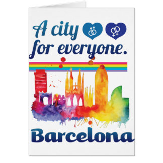 Carte Ville amicale de Wellcoda Barcelone Espagne