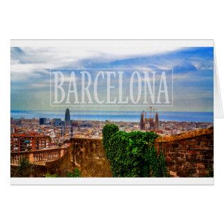 Carte Ville de Barcelone