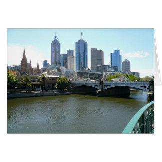 Carte ville de Melbourne