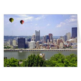 Carte Ville Pennsylvanie de Pittsburgh