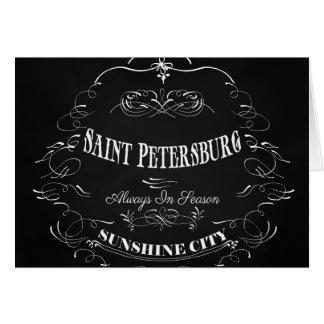 Carte Ville-Saint Pétersbourg-Toujours de soleil de