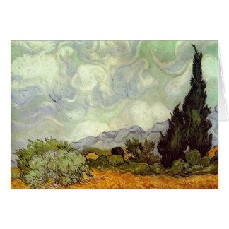 Carte Vincent van Gogh