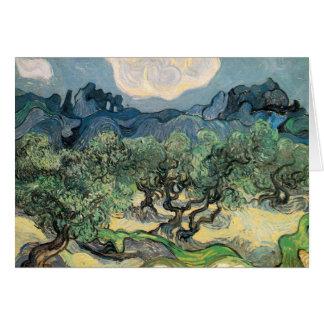 Carte Vincent van Gogh (1853-1890) - les oliviers (18