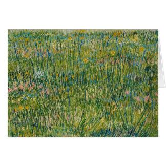 Carte Vincent van Gogh - correction d'herbe
