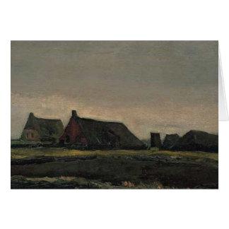 Carte Vincent van Gogh - hutten
