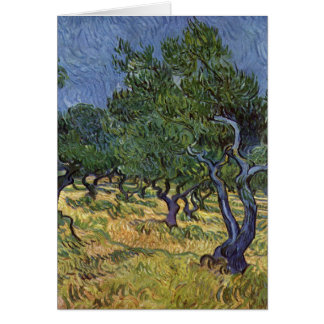 Carte Vincent van Gogh - verger olive