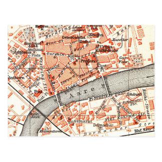 Carte vintage de Solothurn Suisse (1913)