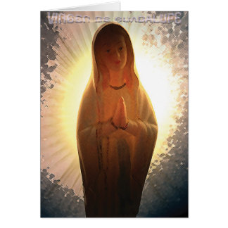 Carte Virgen De Guadalupe