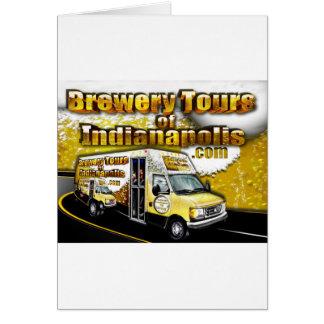 Carte Visites de brasserie d'Indianapolis