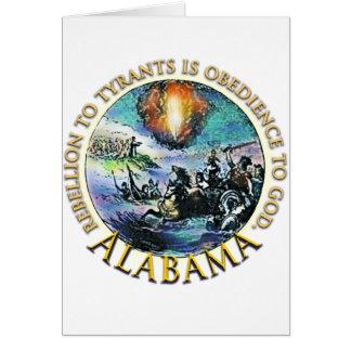 Carte Vitesse de thé de l'Alabama