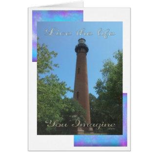 Carte Vivent la vie où vous imaginez le phare OR de