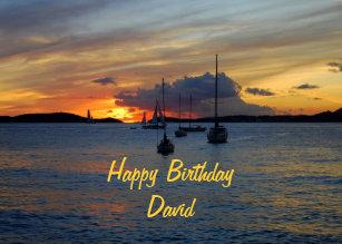 Cadeaux Joyeux Anniversaire David Zazzle Be