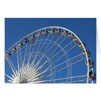 Carte Voitures de roue de Ferris