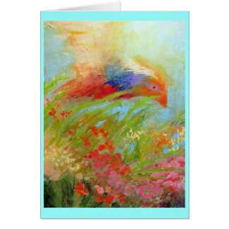 Carte Vol de printemps
