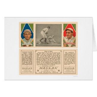 Carte Vol du troisième base-ball 1912 de Red Sox