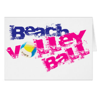 Carte Volleyball de plage
