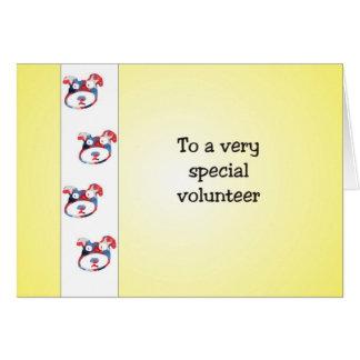 Carte volontaire d'appréciation