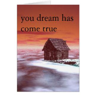 Carte votre rêve
