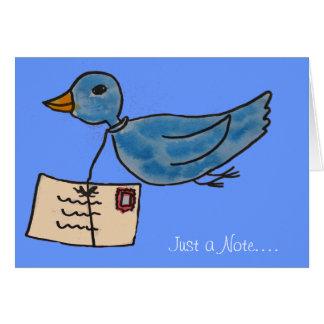 Carte Vous avez le courrier