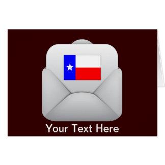 Carte Vous avez le courrier - le Texas