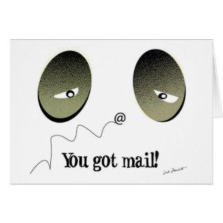Carte Vous avez obtenu le courrier !