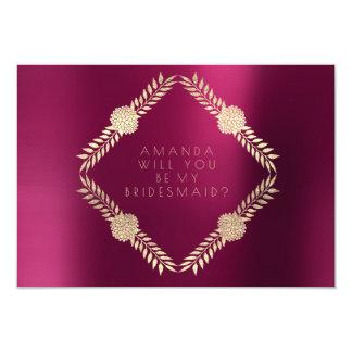 Carte Vous serez mon or de Bordeaux de Bourgogne de